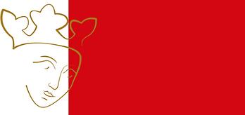 picto aliénor fonds rouge tête brune.png