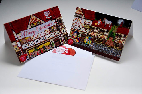 A Set of 5 Christmas Cards