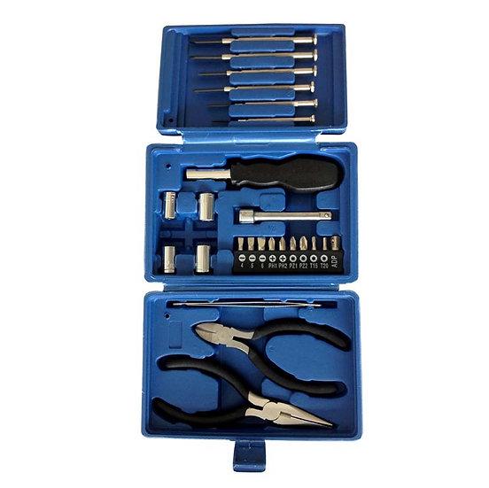 Набор инструментов (26 шт) в пластиковом кейсе STINGER W0414