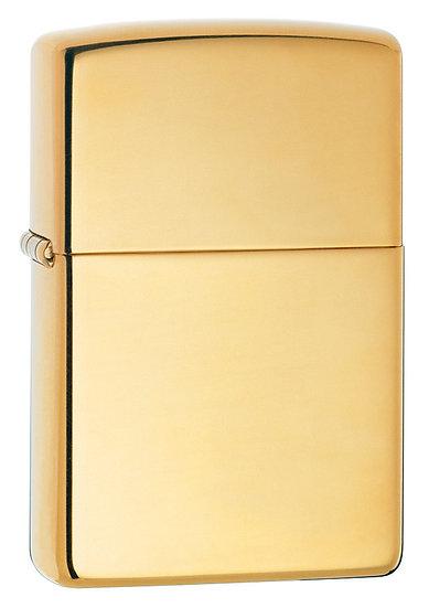 Зажигалка High Polish Brass ZIPPO 254B
