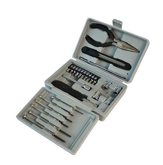 Набор инструментов (26 шт) в пластиковом кейсе STINGER W0402