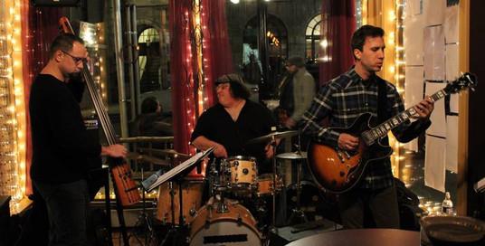 Ken Serio Trio Jedd Chlebowski, Ken Serio, Sinan Bakir