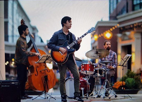 Sinan Bakir Trio Photo by Corey Lynn Tucker