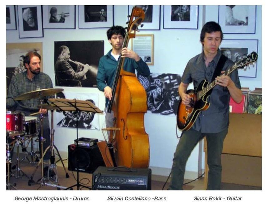 Sinan Bakir Trio  Photo by Bill Pauluh