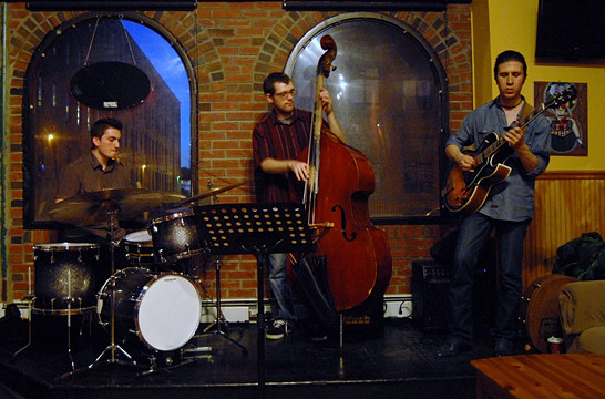 Cemre Dogan, Matt Dwonszyk, Sinan Bakir Photo by Byron Dean