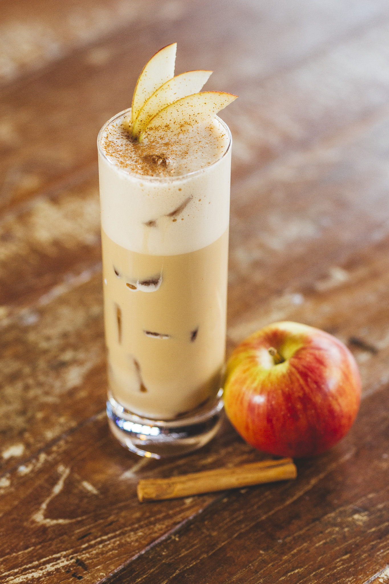 Iced Spiced Latte