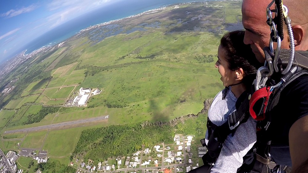 Skydive, paracaídas, Arecibo, Puerto Rico