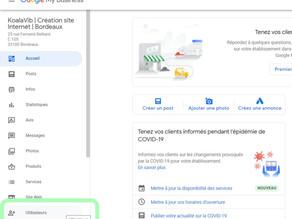 Comment créer des accès à votre fiche Google My Business ?