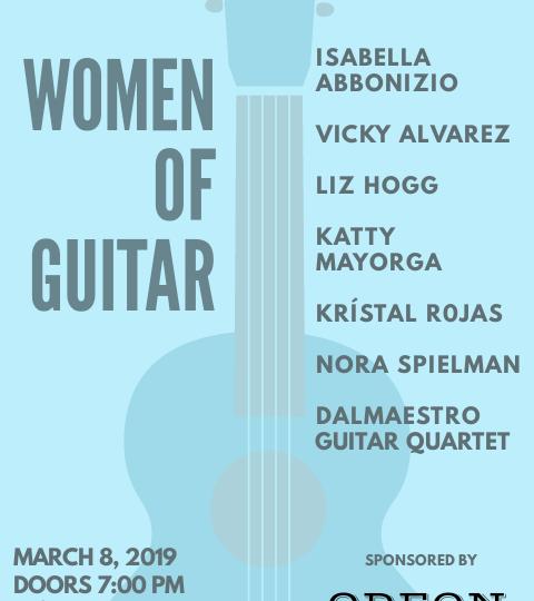 Women of Guitar-March 8, 2019