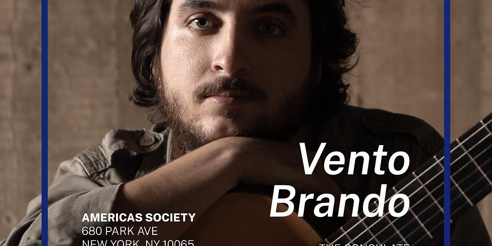 Vento Brando: João Camarero with guest João Luiz