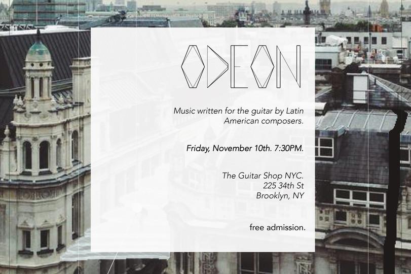 "Odeon ""Music of Latin America"" November 2017"