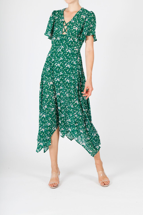 4b295f5d1ce3 COLEEN FLORAL PRINT DRESS - GREEN