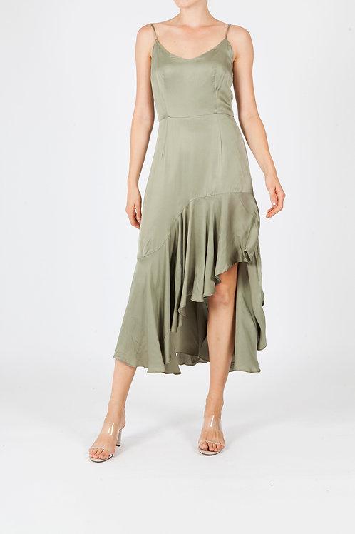 PANTHER DRESS - GREEN