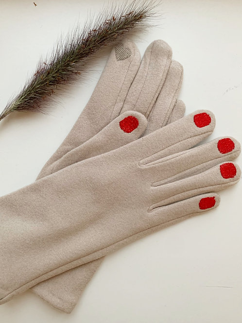 PAINTED NAIL GLOVES