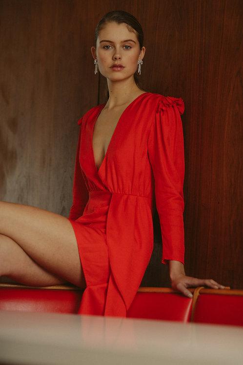 TAMI DRESS - RED