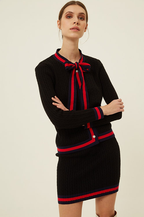 LOUELLA KNITTED CARDIGAN