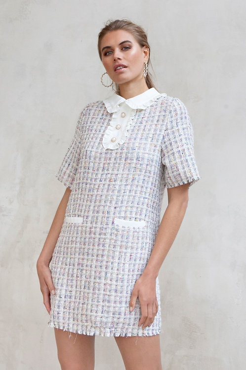 LUMA TWEED DRESS