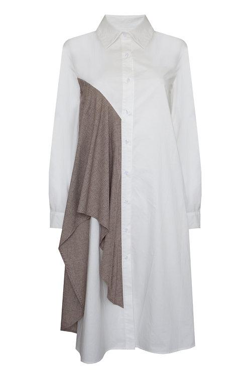 PENMER DRESS – BROWN
