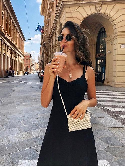 ZORAN DRESS - BLACK