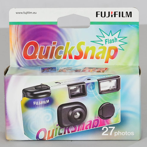 FUJIFILM QUICKSNAP 27 POSES AVEC FLASH - APPAREIL PHOTO JETABLE