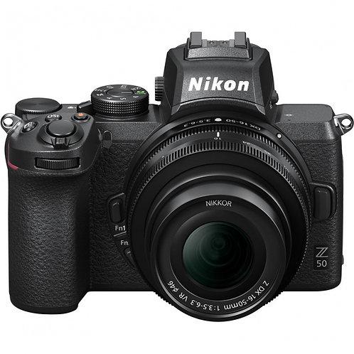 NIKON Z50 + 16-50 mm f/3,5-6,3 DX