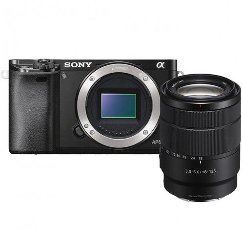 SONY ALPHA 6000 Noir + SEL 18-135 mm f/3,5-5,6 OSS