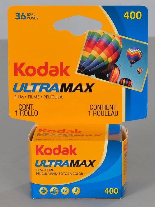 KODAK ULTRAMAX 36 POSES 400 ISO 24X36