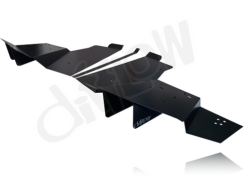 6-Element Railer Rear Diffuser for C7 Corvette