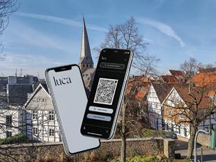 Mit Luca-App Stadtführungen gemeinsam erleben