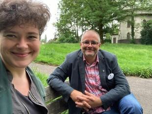 """Nora Gomringer entdeckt """"Orte der Stille"""" in Hattingen"""