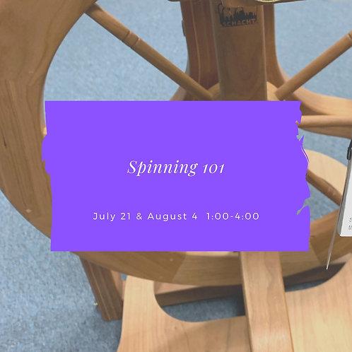 Beginning Spinning