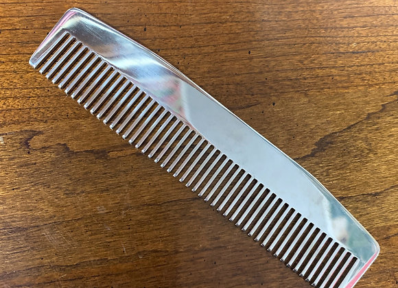 Chicago Comb Co.- Stainless Steel Comb