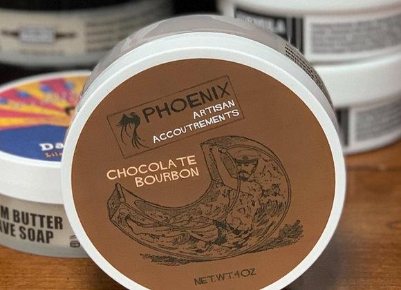 Phoenix Shave Soap - Chocolate Bourbon