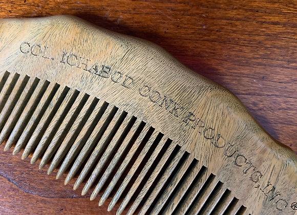 Col. Conk Wooden Beard Comb