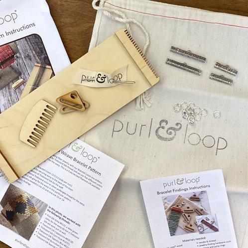 Purl & Loop Bracelet Weaving Kit