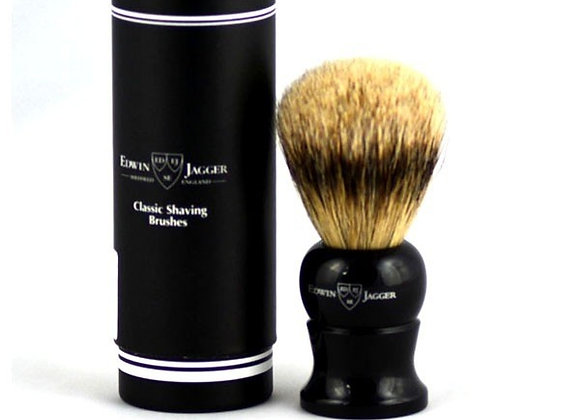 Edwin Jagger Ebony Super Badger Shaving Brush