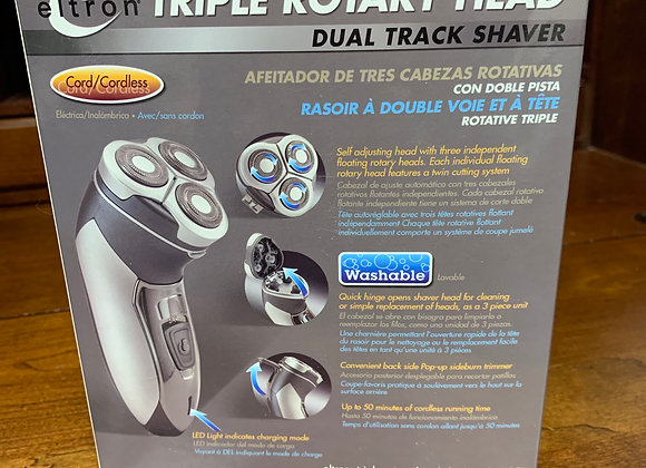 Eltron Triple Rotary Head Electric Shaver