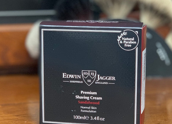 Edwin Jagger Shaving Cream - Sandalwood