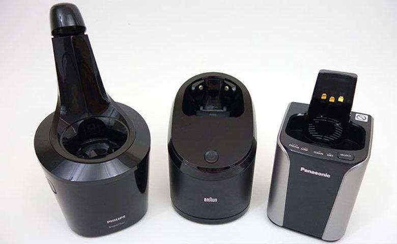 Philips-Norelco-Braun-and-panasonic-clea