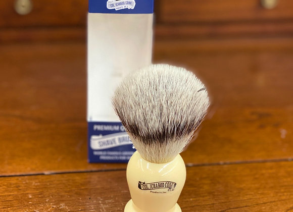 Col. Conk Synthetic faux ivory brush