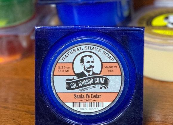 Col. Conk Natural Soaps- Santa Fe Cedar