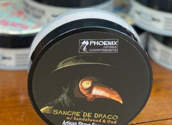 Phoenix Shave Soap -Sangre de Drago