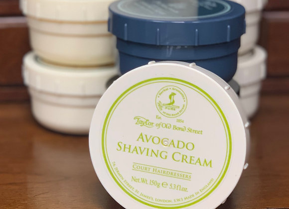 Taylor of Old Bond Street Shave Cream - Avocado