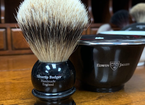 Edwin Jagger Silver Tip Badger Brush