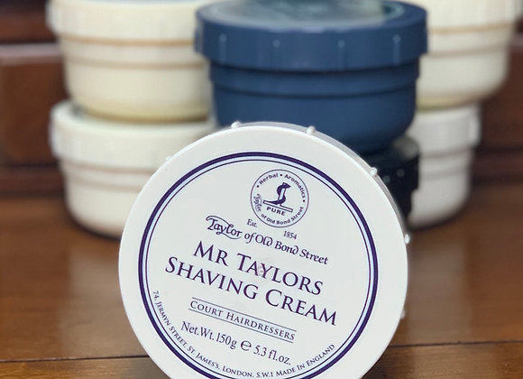 Taylor of Old Bond Street Shave Cream -Mr. Taylor's