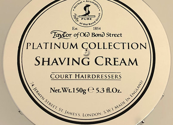 Taylor Platinum Collection Shave Cream
