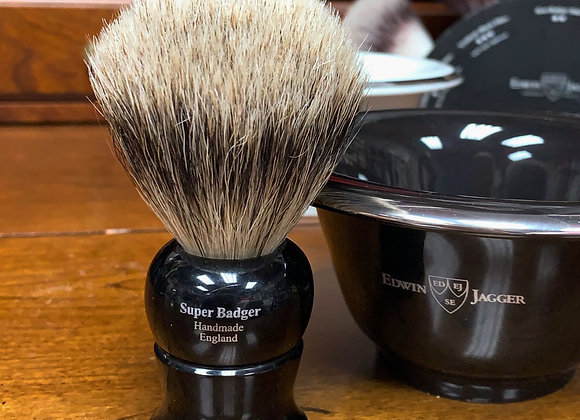 Edwin Jagger Super Badger Shaving Brush