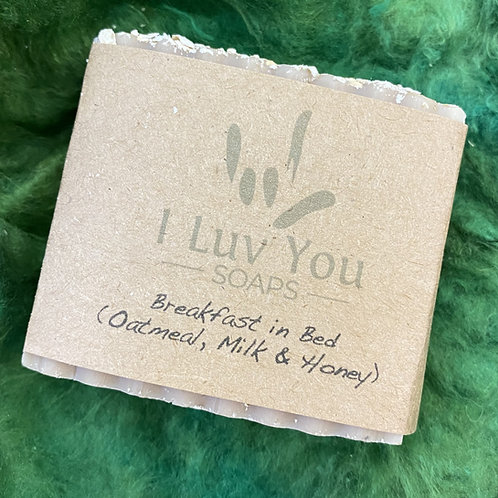 I Luv You soap - Breakfast in Bed