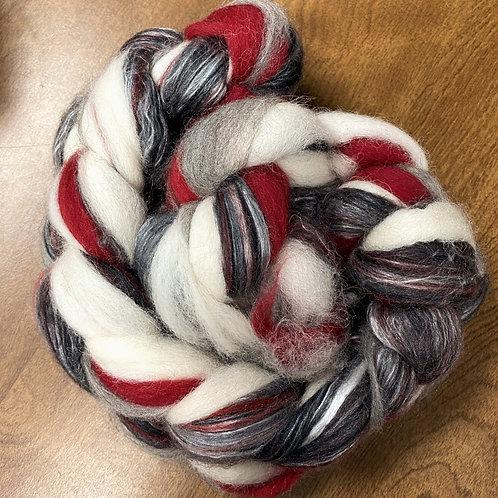 Alpaca/Merino/Silk braid #1