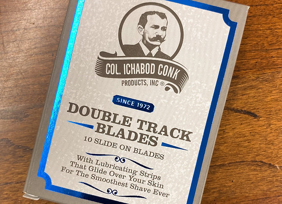 Col. Conk Double Track Blades